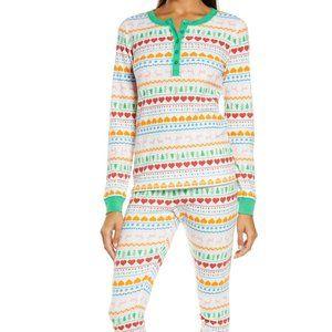 Nordstrom Fam Jam 2-pc Thermal Pajama Set